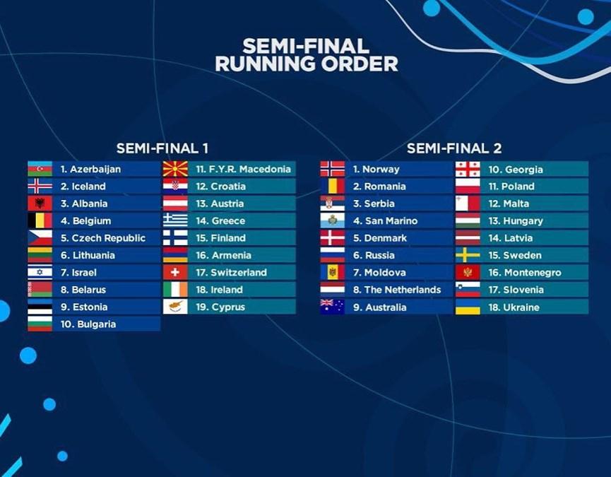 Η ανακοίνωση της Eurovision