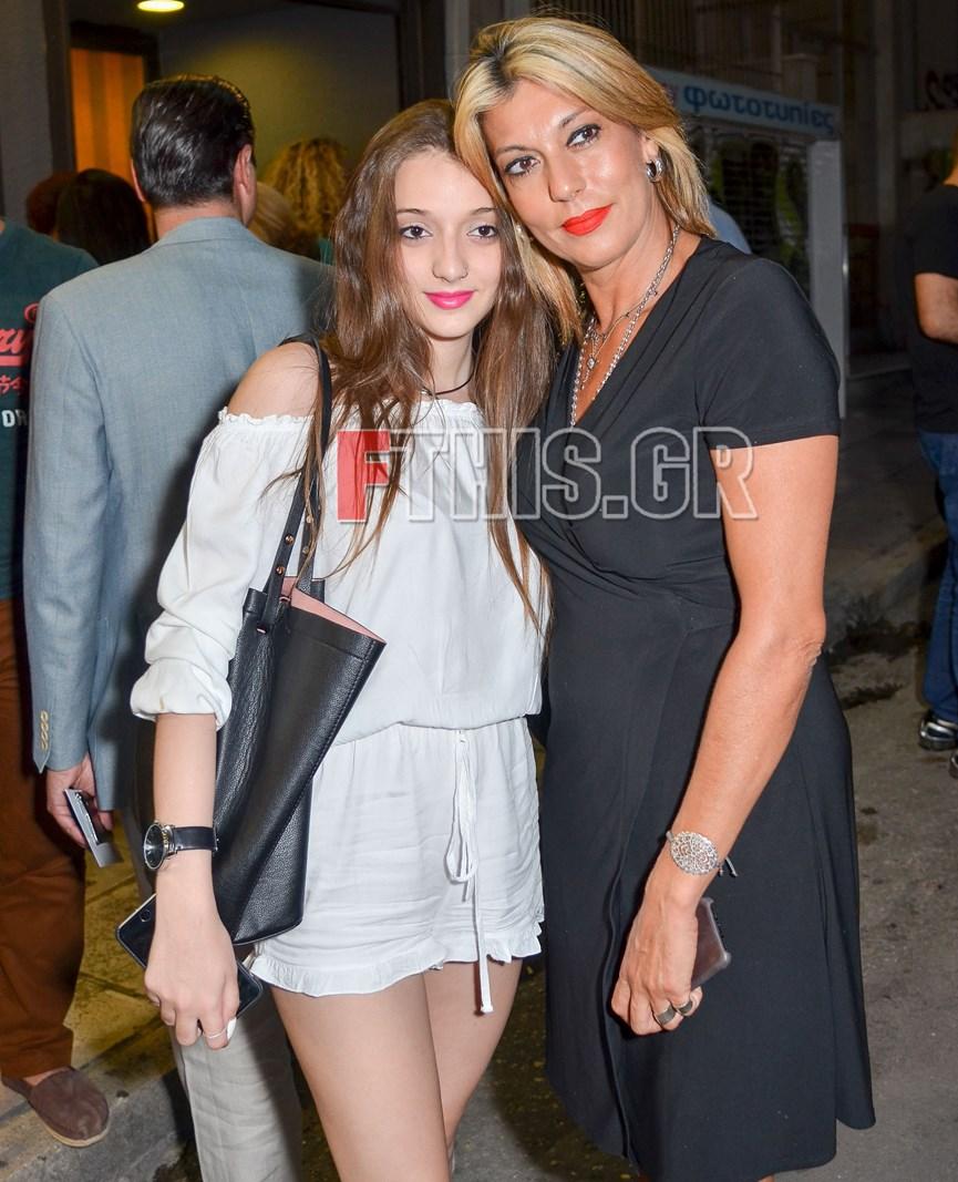Η Άννα Καραμανλή με την κόρη της